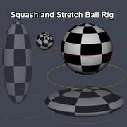Manipulierter Ball 3d model