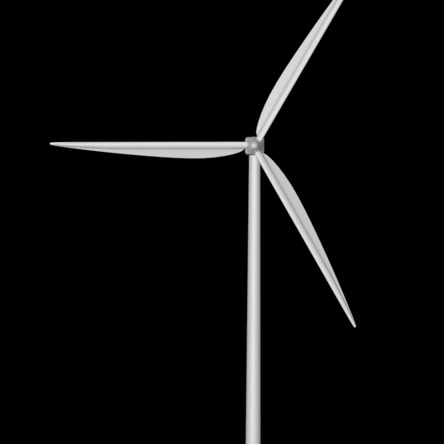 Windmill royalty-free 3d model - Preview no. 4
