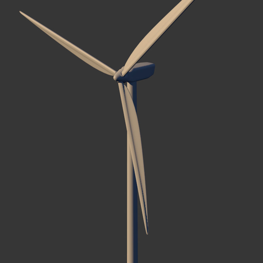 Windmill royalty-free 3d model - Preview no. 5
