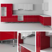 Ikeaキッチンモジュール 3d model