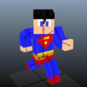 Minecraft modelo 3d