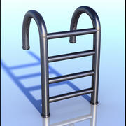 Swimming Pool Ladder 3d model