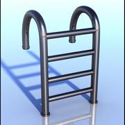 Swimming Pool Ladder 3d model