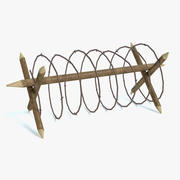 Military Barbed Wire 3d model