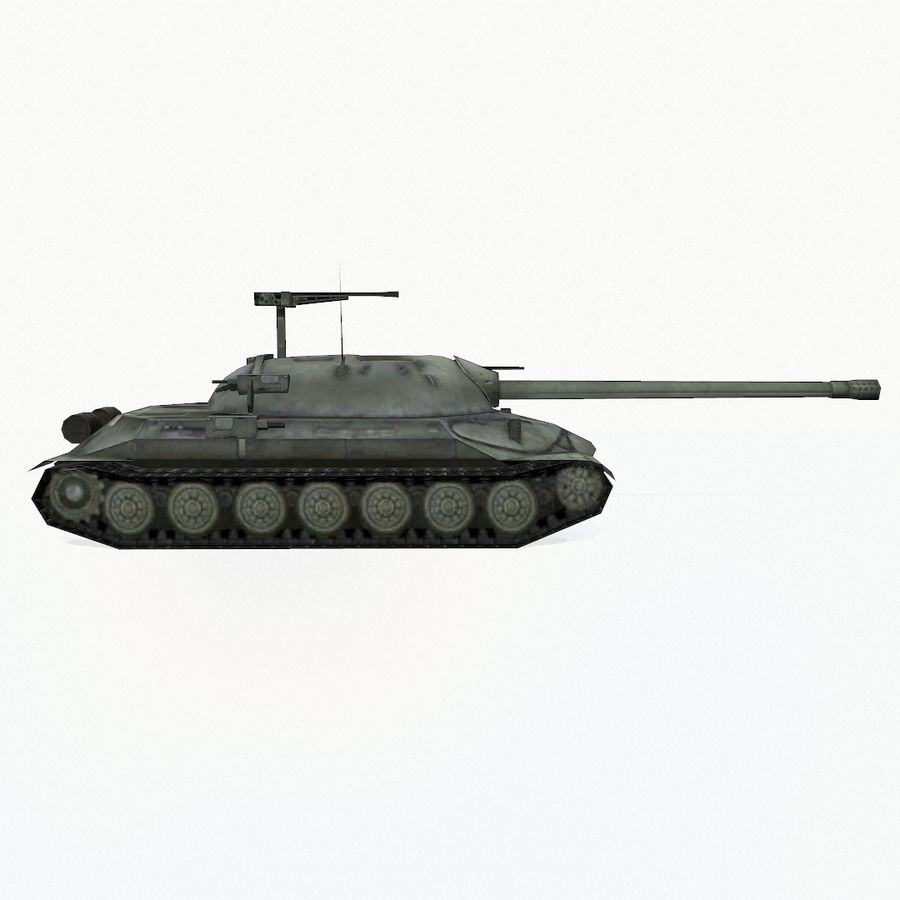 IS-7 royalty-free 3d model - Preview no. 7