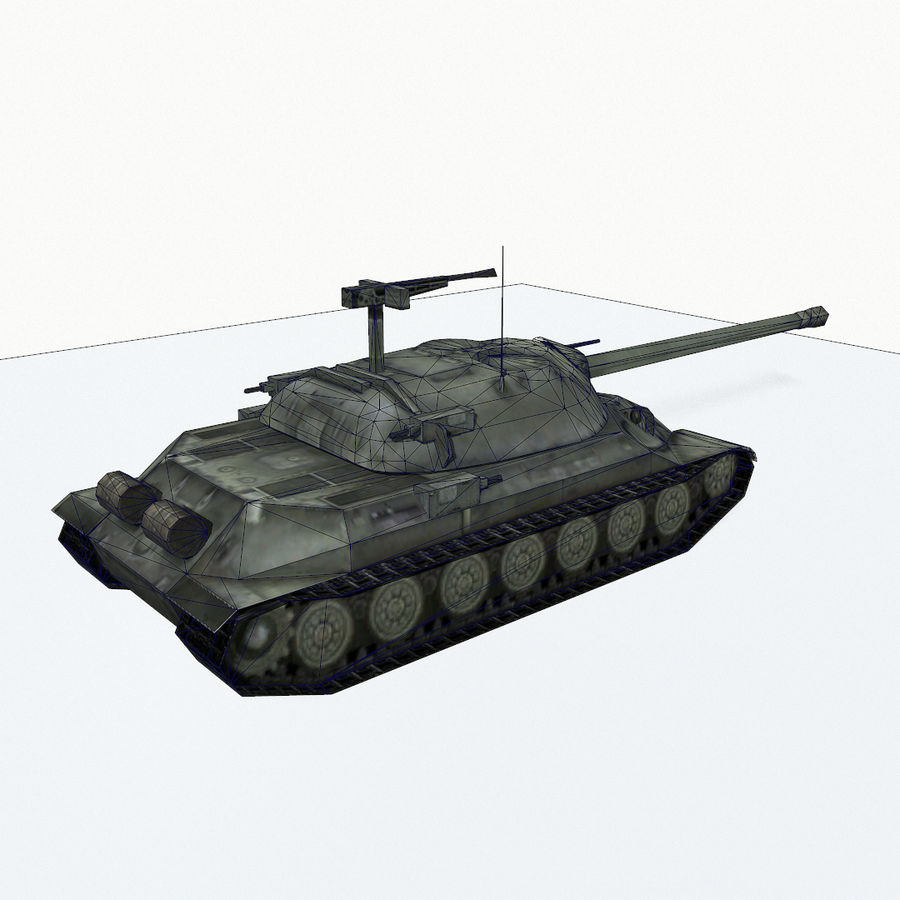 IS-7 royalty-free 3d model - Preview no. 12
