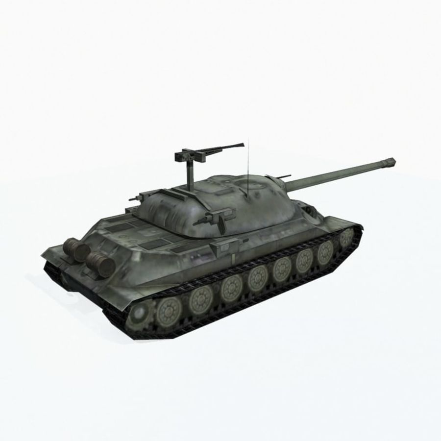 IS-7 royalty-free 3d model - Preview no. 6