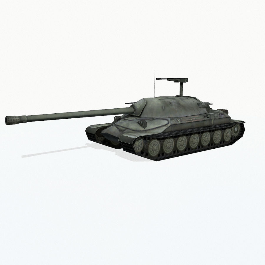 IS-7 royalty-free 3d model - Preview no. 3