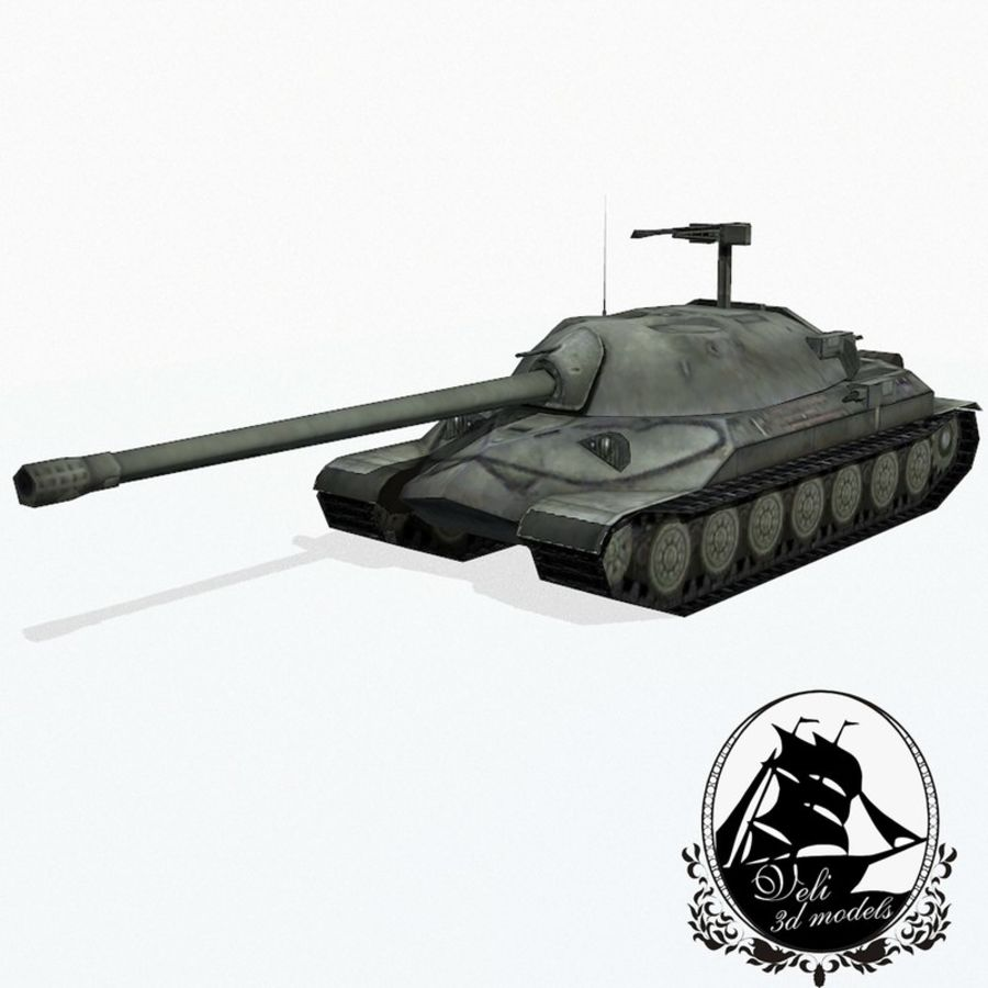IS-7 royalty-free 3d model - Preview no. 1