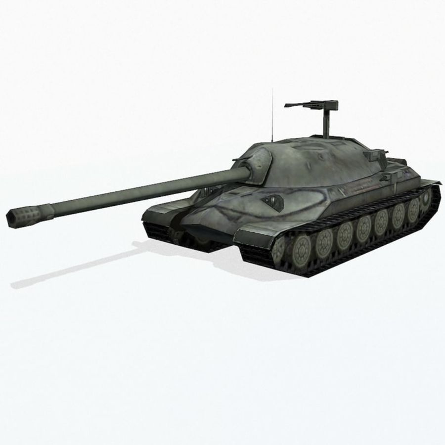 IS-7 royalty-free 3d model - Preview no. 2