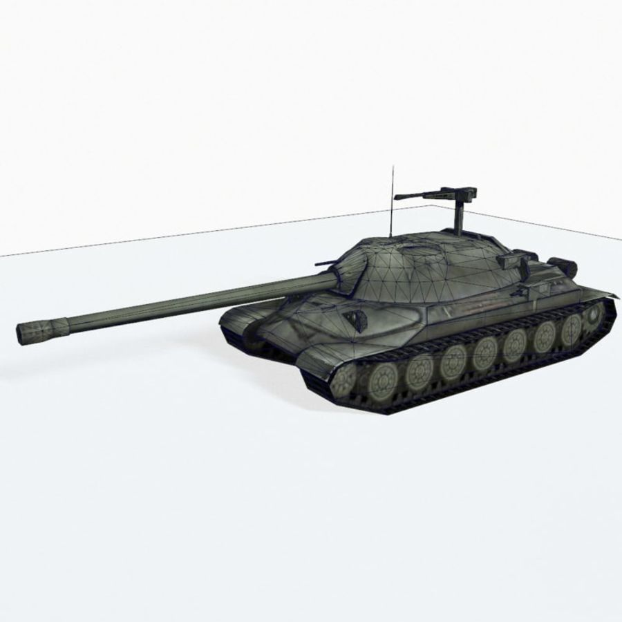 IS-7 royalty-free 3d model - Preview no. 10