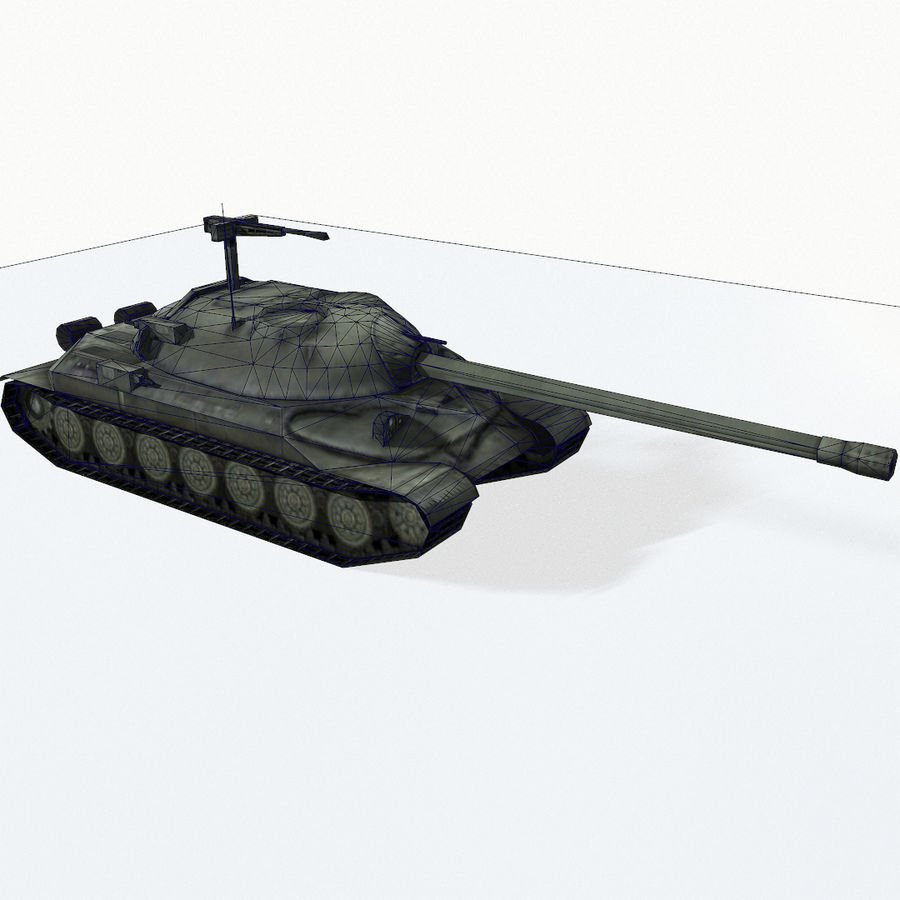IS-7 royalty-free 3d model - Preview no. 13