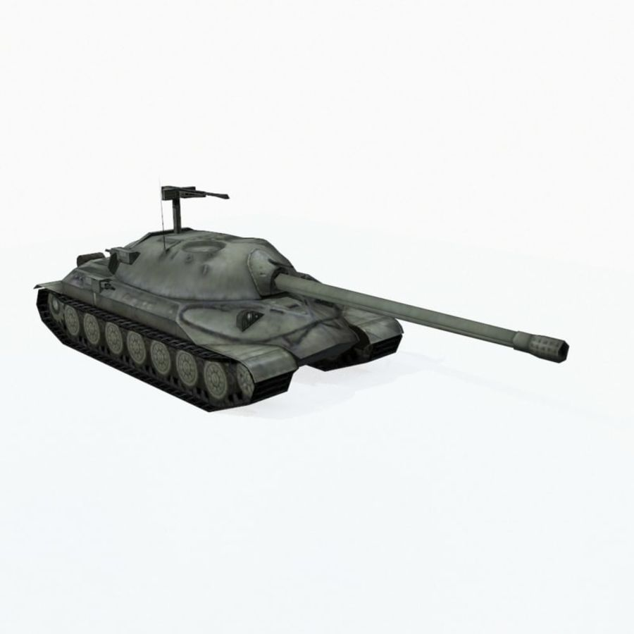 IS-7 royalty-free 3d model - Preview no. 8