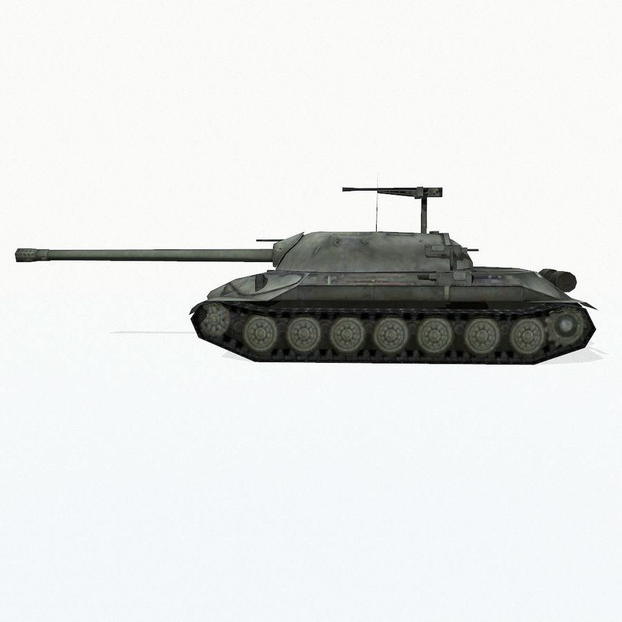 IS-7 royalty-free 3d model - Preview no. 4