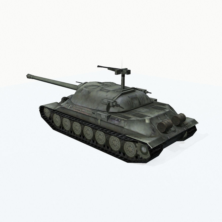 IS-7 royalty-free 3d model - Preview no. 5