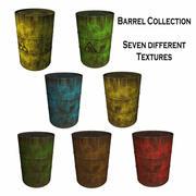 Rusty Barrel Collection 3d model
