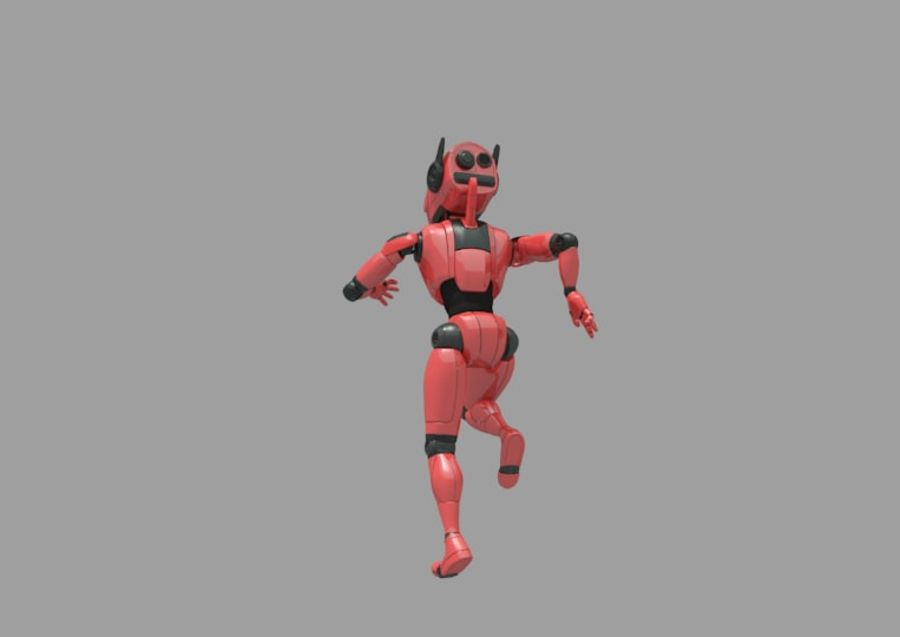 Robot / Android / Concept royalty-free 3d model - Preview no. 4