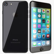 Apple iPhone 7 Plus Preto 3d model