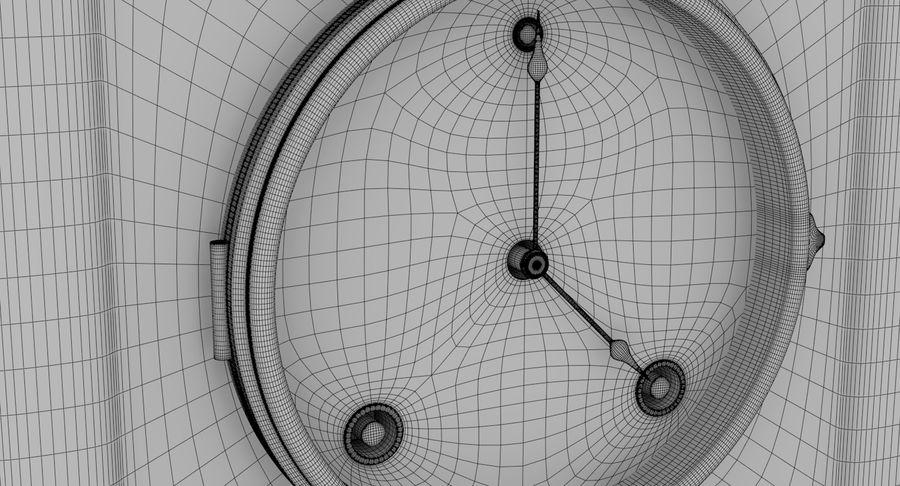Mantel Clock royalty-free 3d model - Preview no. 11