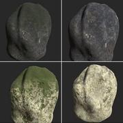 Realistischer Rock 3 3d model