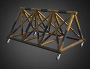 Barrière militaire 3d model