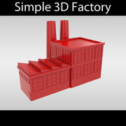 Usine Simple 3d model