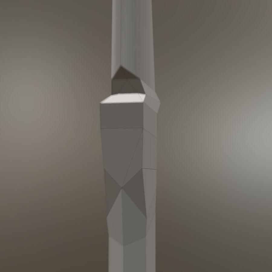 Spjut royalty-free 3d model - Preview no. 6