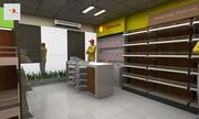 Shell Tuck Shop 3d model