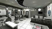 Salão 3d model