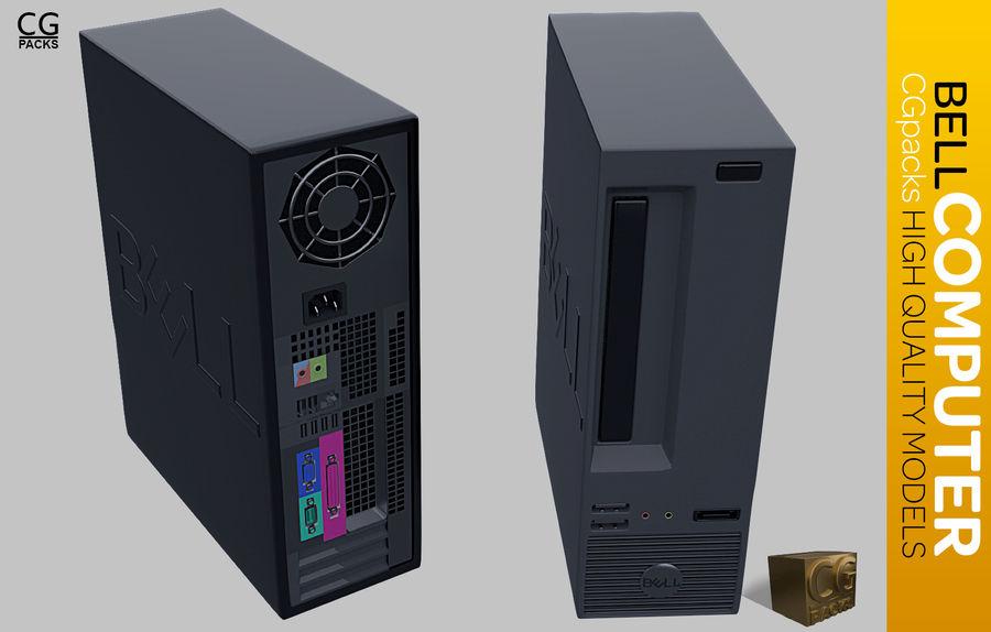 Desktop Computer royalty-free 3d model - Preview no. 1