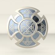 tarcza celtycka 3d model