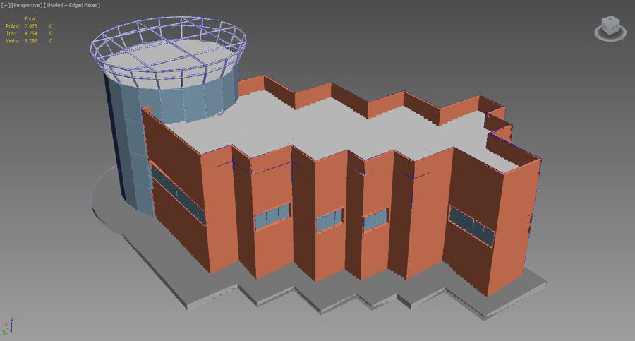 MUSEO royalty-free 3d model - Preview no. 12
