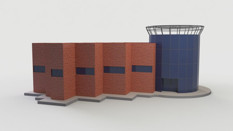 MUSEO royalty-free 3d model - Preview no. 6