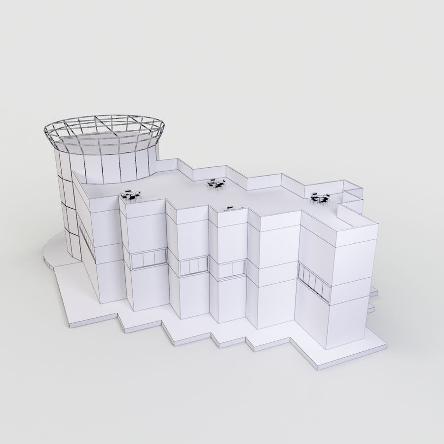 MUSEO royalty-free 3d model - Preview no. 11