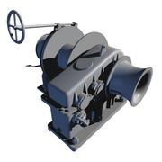 Schip ankerlier 3d model