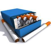 Algemeen sigarettenpakket 3d model