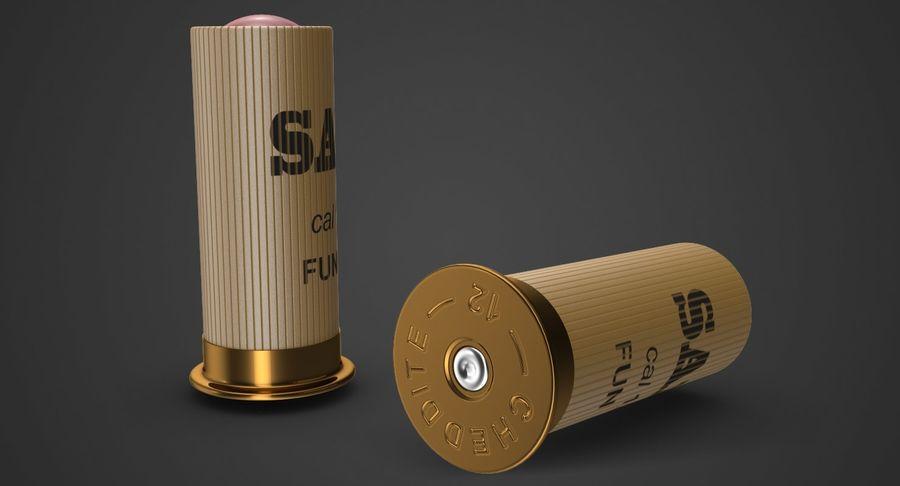 Патрон огнестрельного оружия royalty-free 3d model - Preview no. 3
