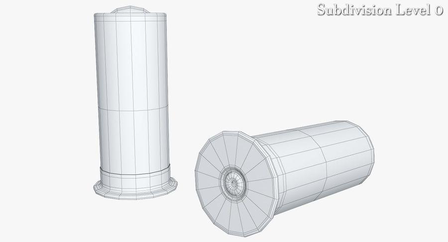 Патрон огнестрельного оружия royalty-free 3d model - Preview no. 7