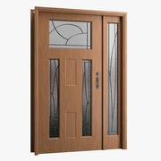Front Door 01 3d model