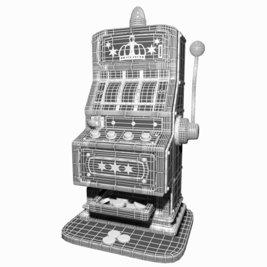 Machine à sous de dessin animé royalty-free 3d model - Preview no. 14