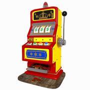 Máquina de entalhe dos desenhos animados 3d model