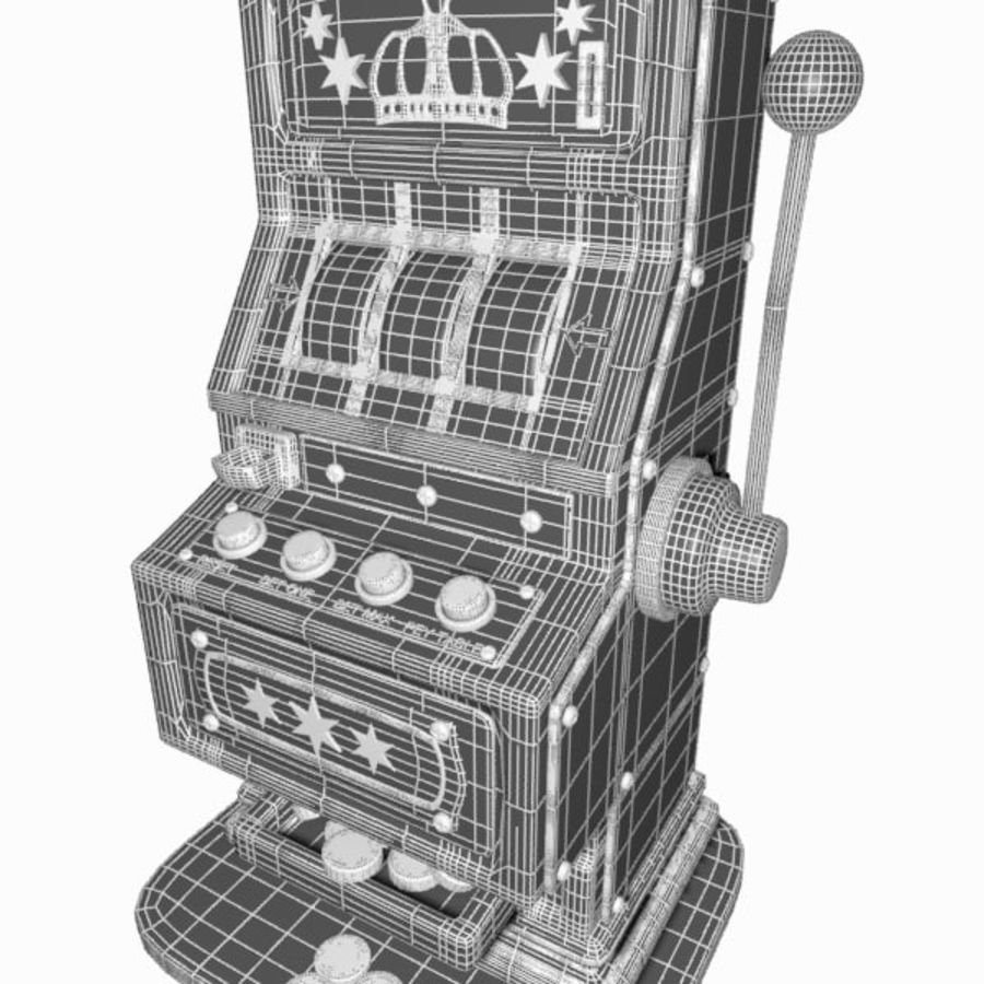 Machine à sous de dessin animé royalty-free 3d model - Preview no. 20