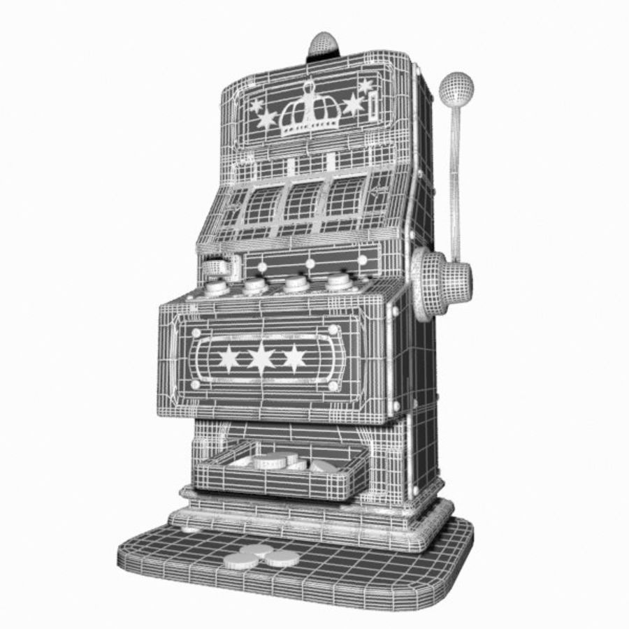 Machine à sous de dessin animé royalty-free 3d model - Preview no. 13