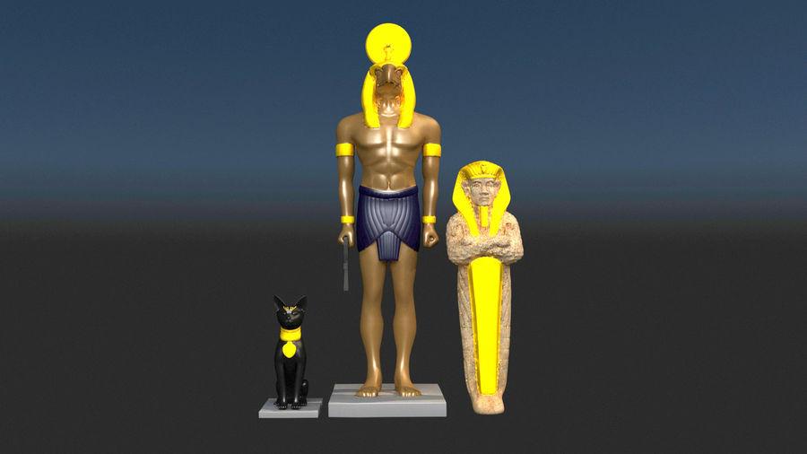 Estatua antigua royalty-free modelo 3d - Preview no. 2