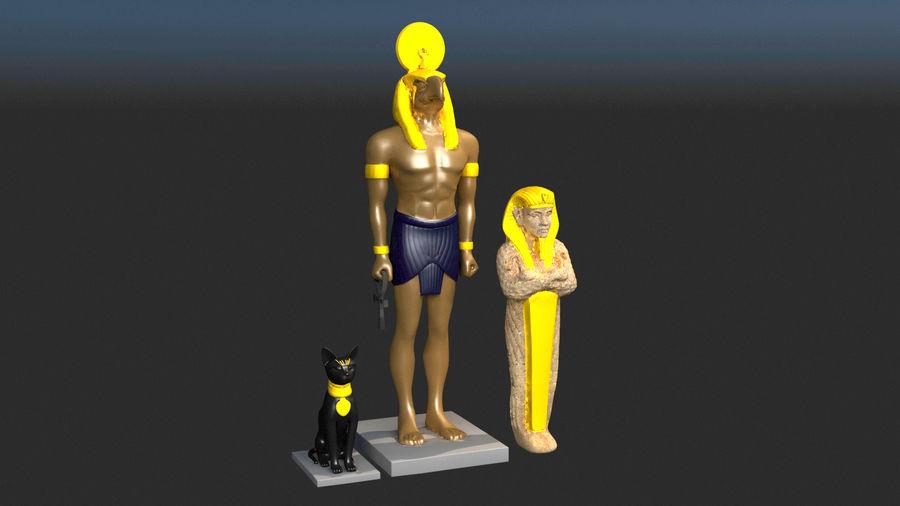 Estatua antigua royalty-free modelo 3d - Preview no. 1