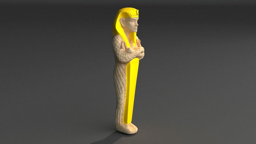 Estatua antigua royalty-free modelo 3d - Preview no. 7