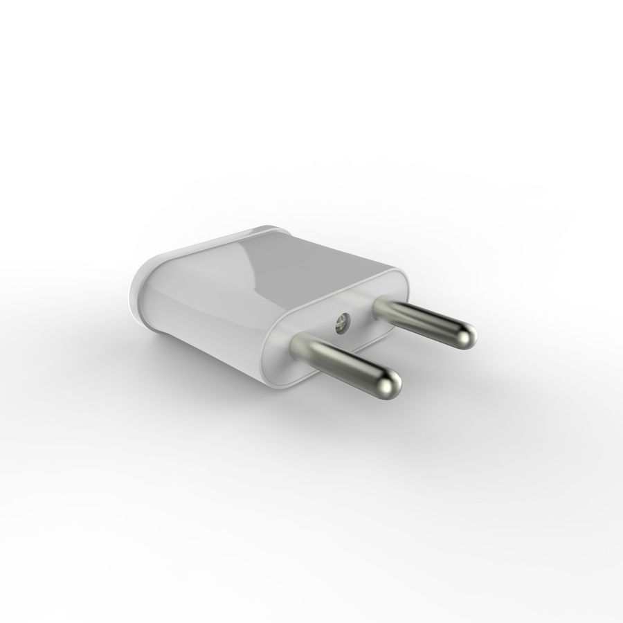 Electrical Power Adapter V3 royalty-free 3d model - Preview no. 2