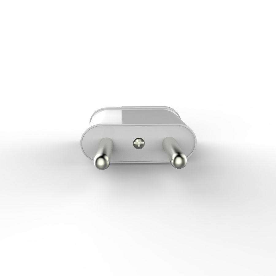 Electrical Power Adapter V3 royalty-free 3d model - Preview no. 3