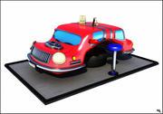 Tableau Car Cartoon 3d model