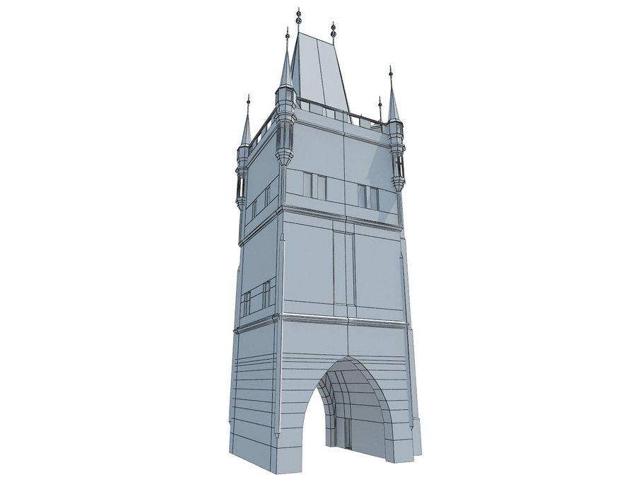 Vieux pont de Prague royalty-free 3d model - Preview no. 5